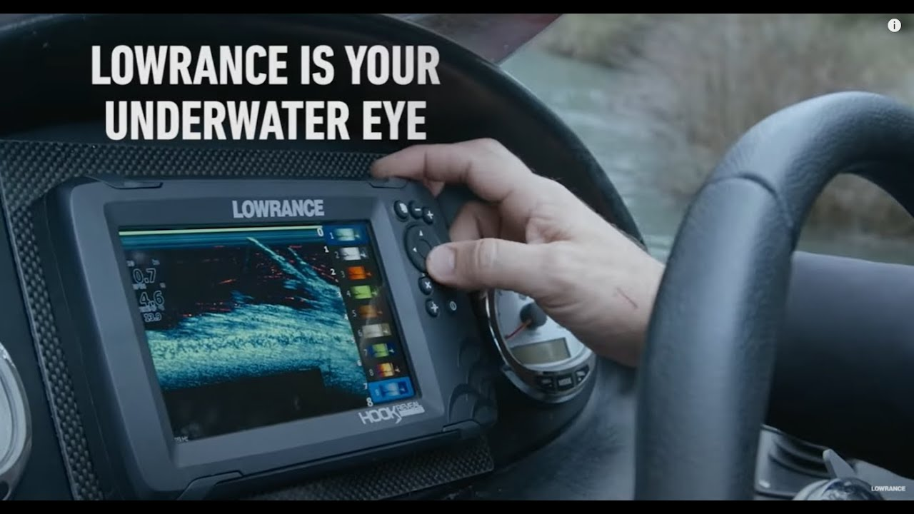 Lowrance advert for their systems