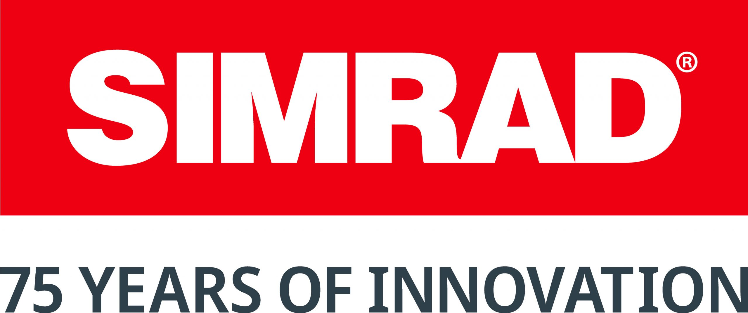 logo for Simrad Yachting 75 years of innovation