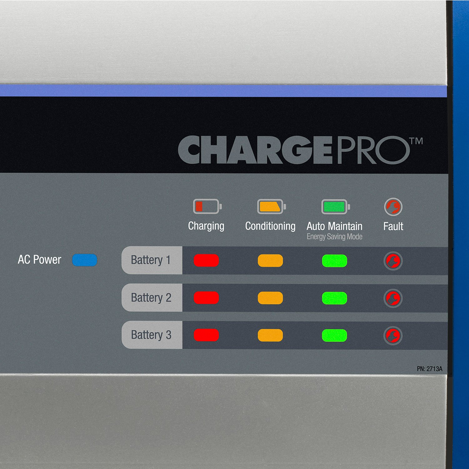 close up of the display on the ChargePro from Guest