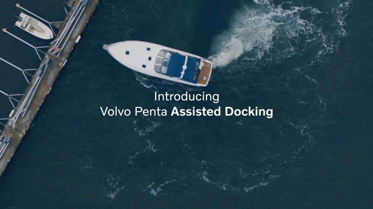 boat using the assisted docking technology