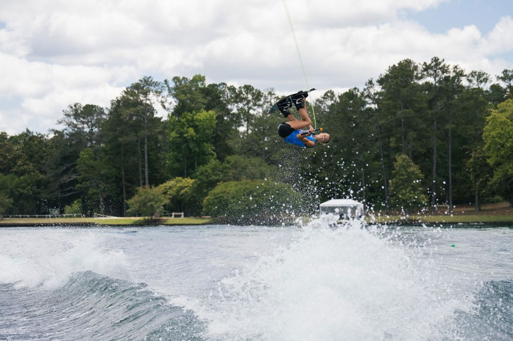 Mary Morgan Howell wakeboarding at Nautique masters