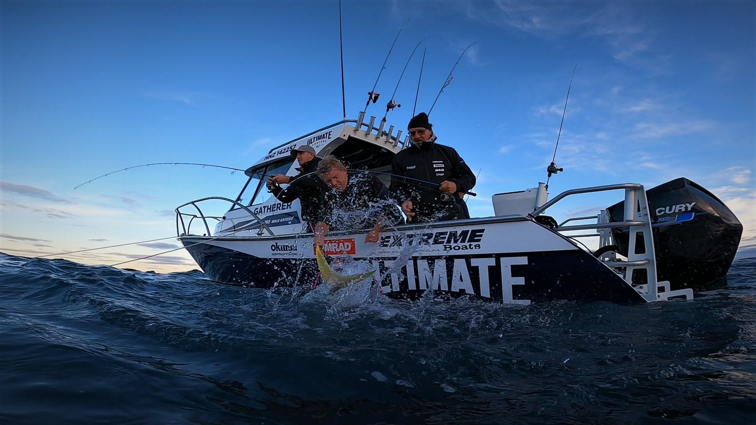 Ultimate Charters vessel out on New Zealand waters