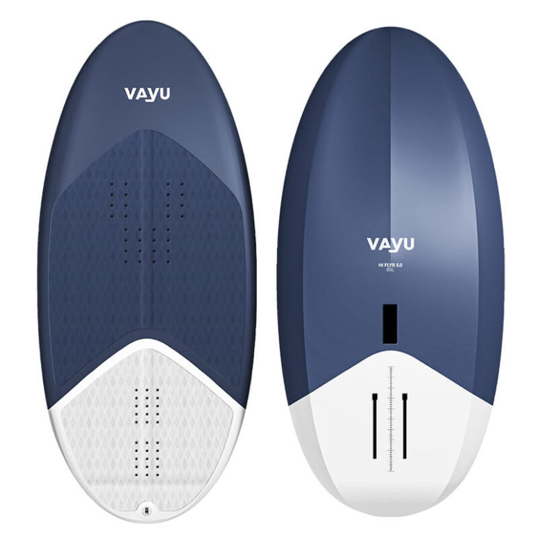 Vayu Hi Flyer 5.0 with stats of how it goes in different areas (e.g. take off and roll stability)